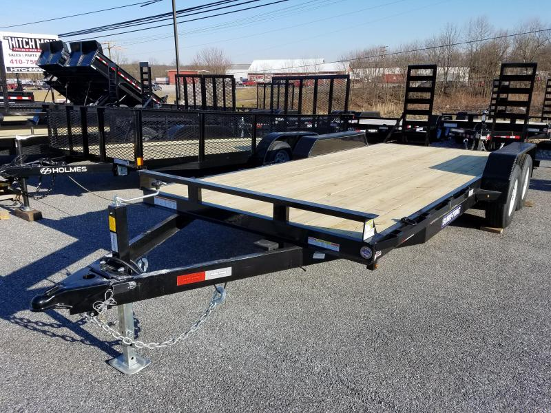 7 x 18 Sure-Trac Implement Equipment Trailer 10K