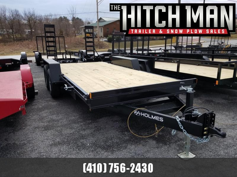 7 x 18 Holmes Equipment Trailer 12K