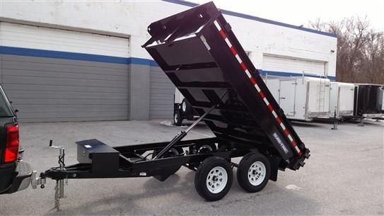 6 x 10 Sure-Trac 7k Deckover Dump Trailer