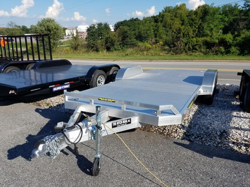 Aluma 7 x 18 Aluminum Car Trailer 7k