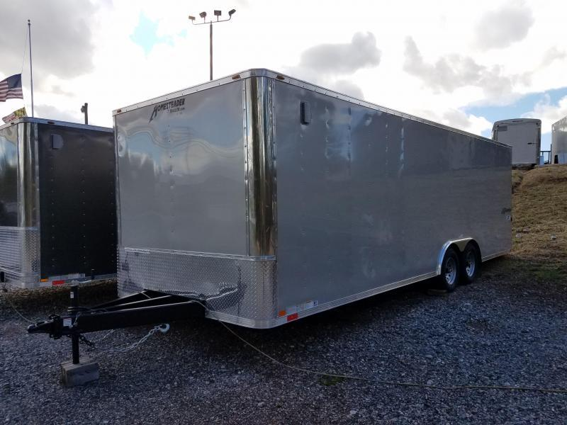 8.5 x 24 Homesteader Champion SGT 10k Enclosed Car Hauler