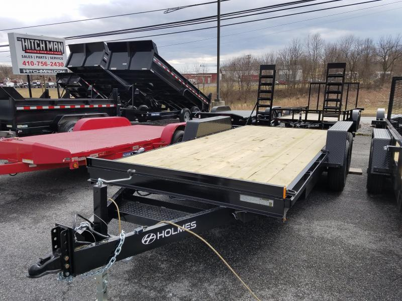 7 x 18 Holmes 12k Equipment Trailer