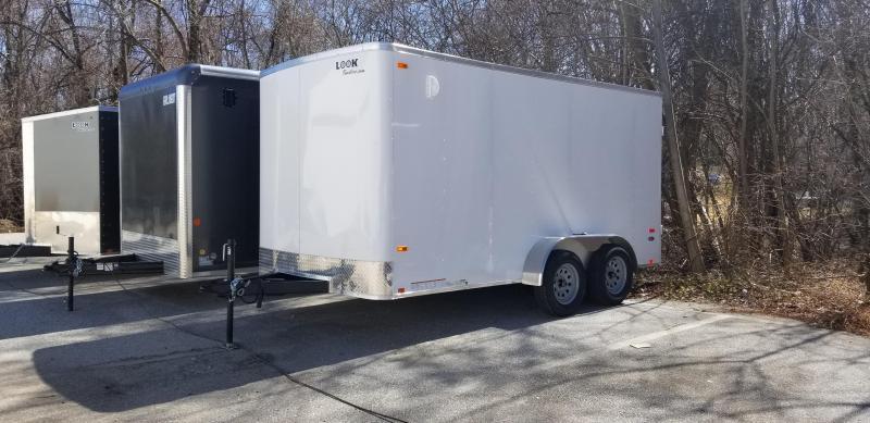 Look 7x14 ST Cargo Trailer 7k