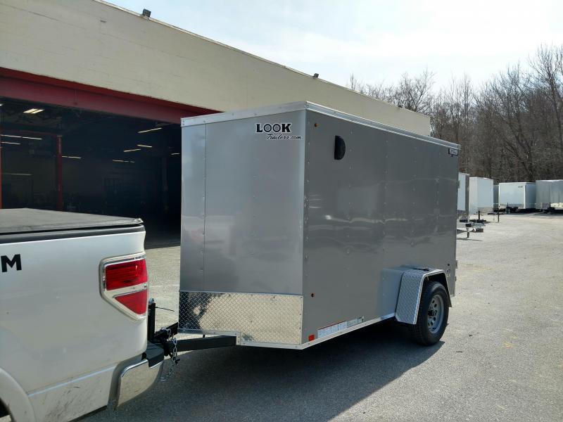 5x8 Look Trailers Enclosed Cargo Trailer 3k