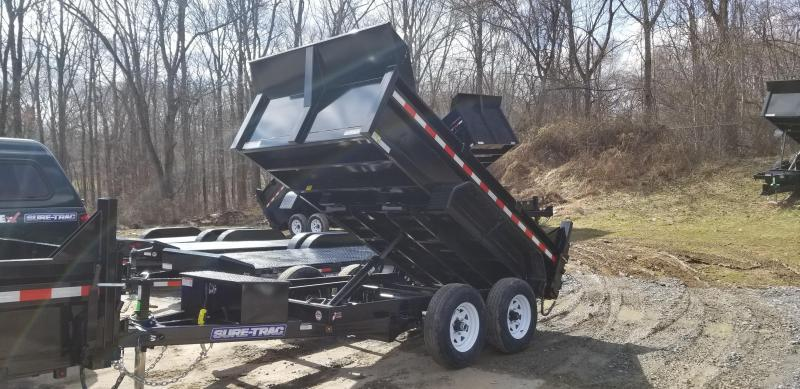 6 x 12 Sure-Trac 10k Low-Profile Dump Trailer