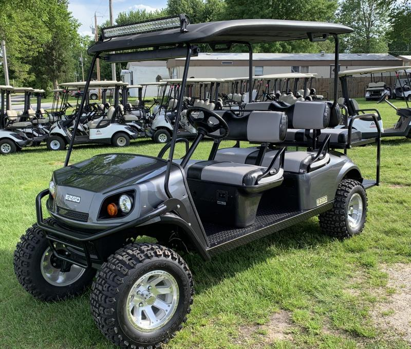 2018 E-Z-GO EXPRESS L6-6 PASSENGER-METALLIC CHARCOAL (ELECTRIC)