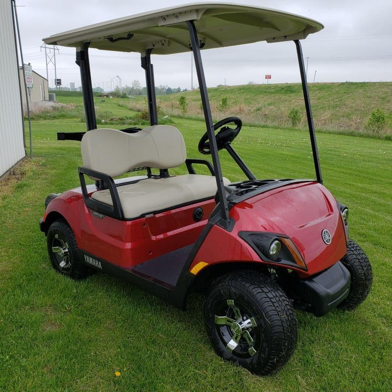 2018 YAMAHA-2 PASSENGER-JASPER RED- DRIVE2 (ELECTRIC) AC