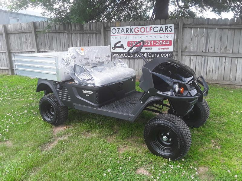 2019 CUSHMAN HAULER 1200X-UTILITY VEHICLE-BLACK(GAS EFI)