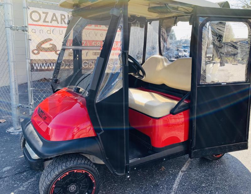 2012 CLUB CAR-PRECEDENT-2 PASSENGER-RED