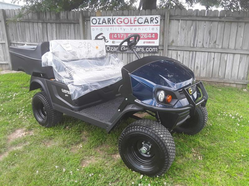 2019 CUSHMAN HAULER 800X- EFI UTILITY VEHICLE-PATRIOT BLUE (GAS EFI)