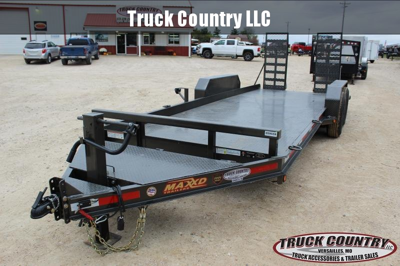 "2019 Maxxd B6X 81""x20' Equipment Trailer"