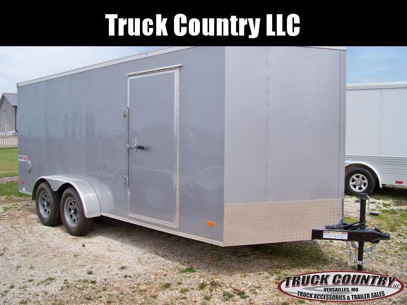 2019 Bravo Trailers 7x16 Hero Enclosed Cargo Trailer