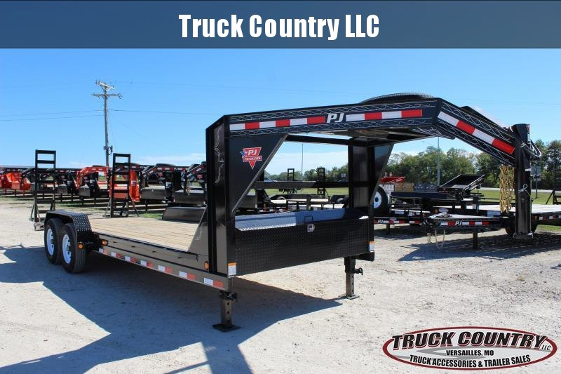 2019 PJ Trailers CC 22' gooseneck Equipment Trailer