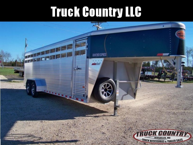 2018 Sundowner Trailers 6.9x24 aluminum Livestock Trailer