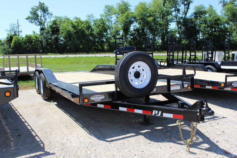 2019 Bravo Trailers TS 22' tilt Equipment Trailer