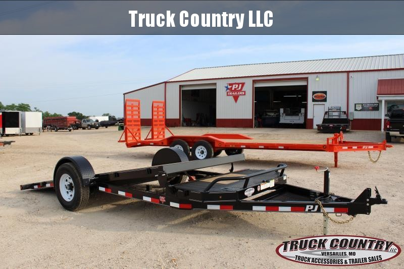 2019 PJ Trailers T1 16 tilt Equipment Trailer