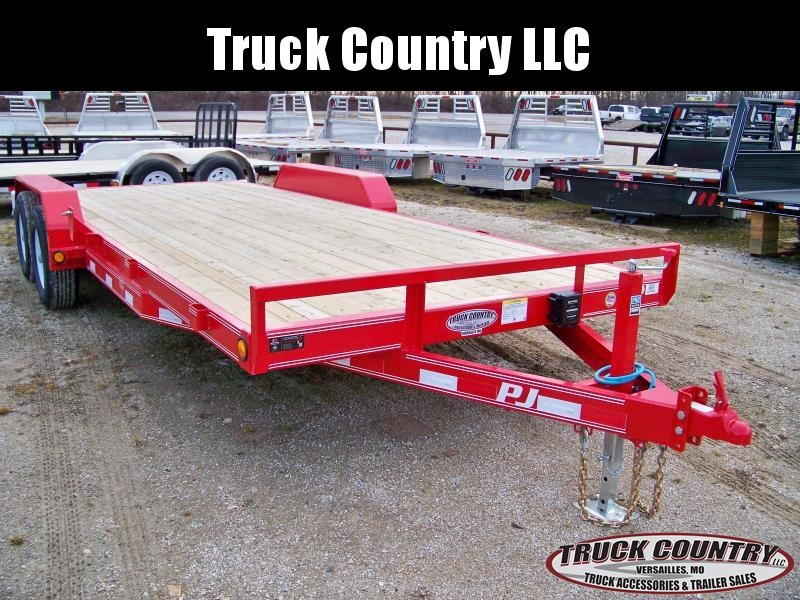 2018 PJ Trailers CE 20 Equipment/carhauler Trailer