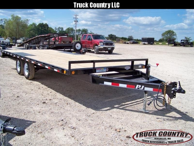 2018 PJ Trailers L6 20' deckover Equipment Trailer