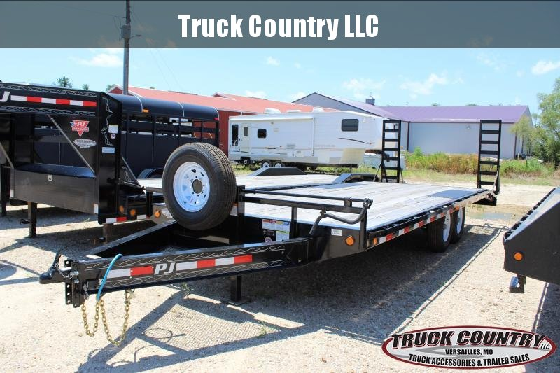 "2019 PJ Trailers F8 102""x22' deckover Equipment Trailer"