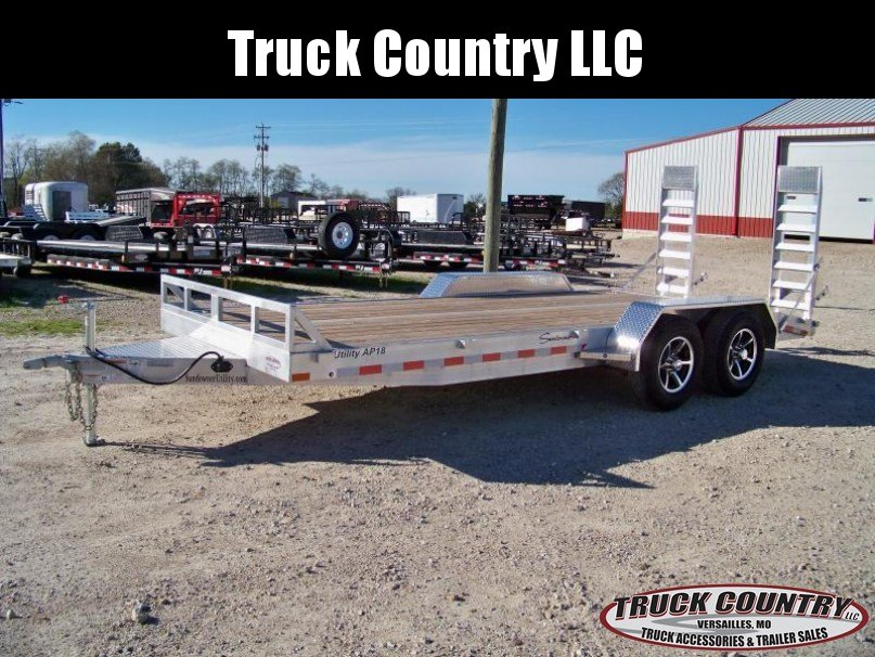 2018 Sundowner Trailers aluminum Carhauler/equipment Trailer