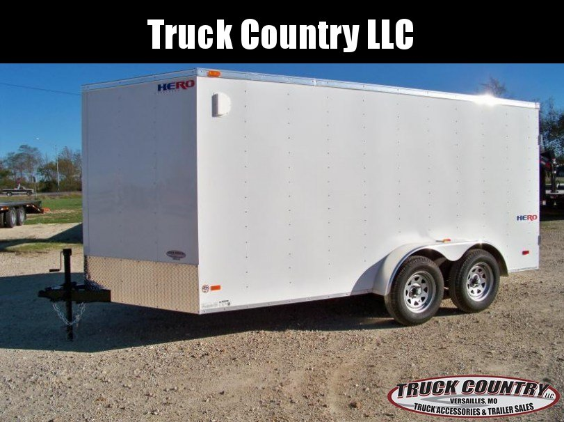 2018 Bravo Trailers 7x14 Hero Enclosed Cargo Trailer