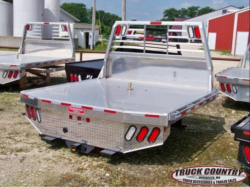 "84""x102"" Zimmerman alum Truck Bed"