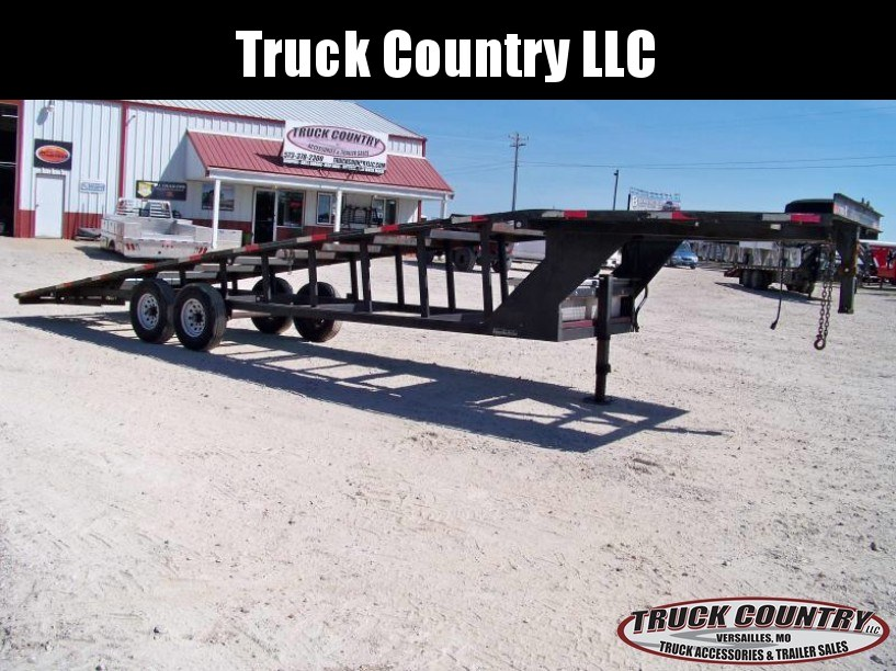 2007 Appalachian 2-car wedge Carhauler Trailer