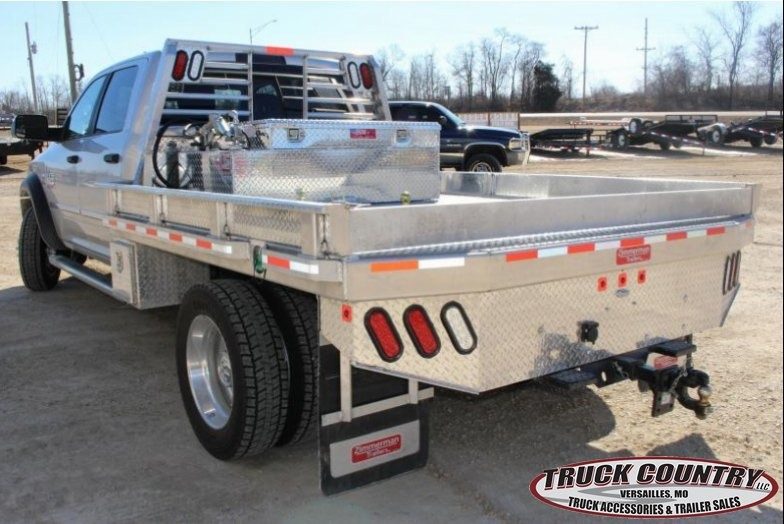 97x102 Zimmerman alum Truck Bed