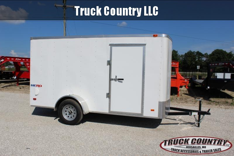 2019 Bravo Trailers 6x12 Hero Enclosed Cargo Trailer