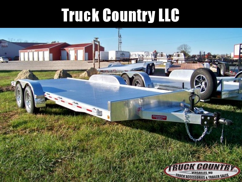 2018 Zimmerman 18 aluminum Car / Racing Trailer