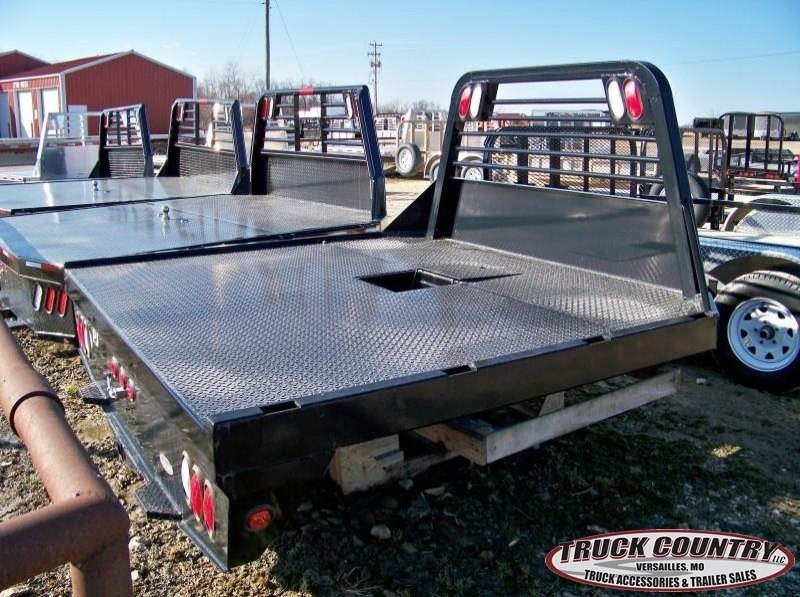 PJ Trailer 97x84 steel Dodge mega cab Truck Bed