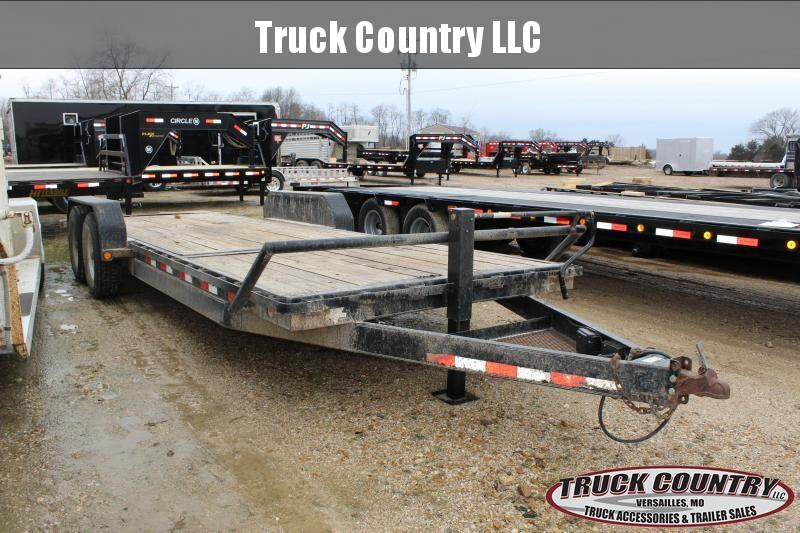2006 PJ Trailers 22' tilt Equipment Trailer