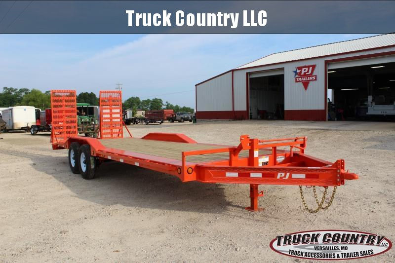 2019 PJ Trailers H6 24' superwide orange Equipment Trailer