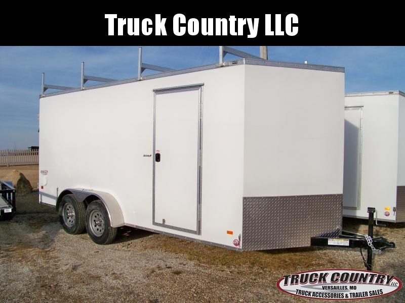 2018 Bravo Trailers 7x16 scout Enclosed Cargo Trailer