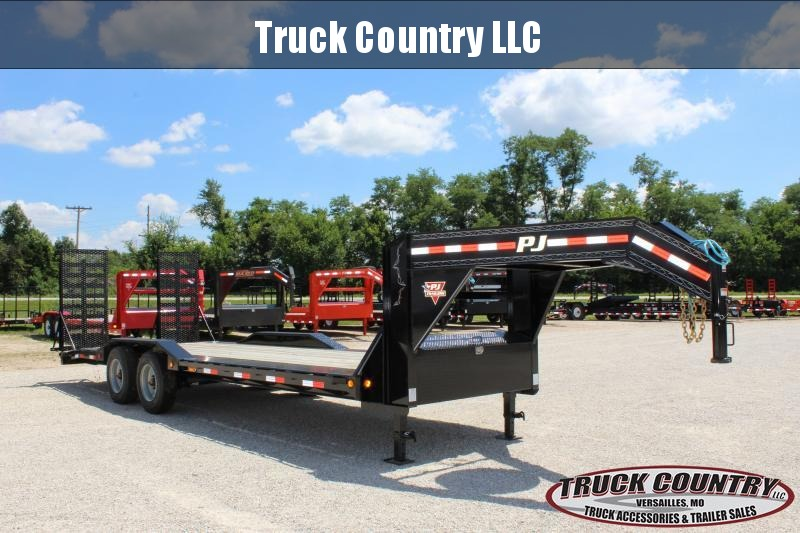2020 PJ Trailers H7 24' gooseneck Equipment Trailer