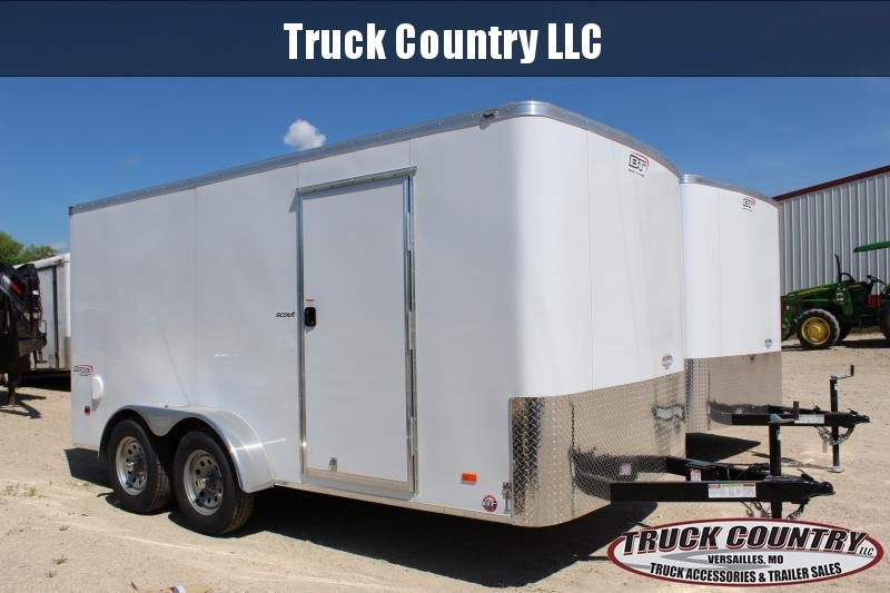 2019 Bravo Trailers 7'x14' scout Enclosed Cargo Trailer