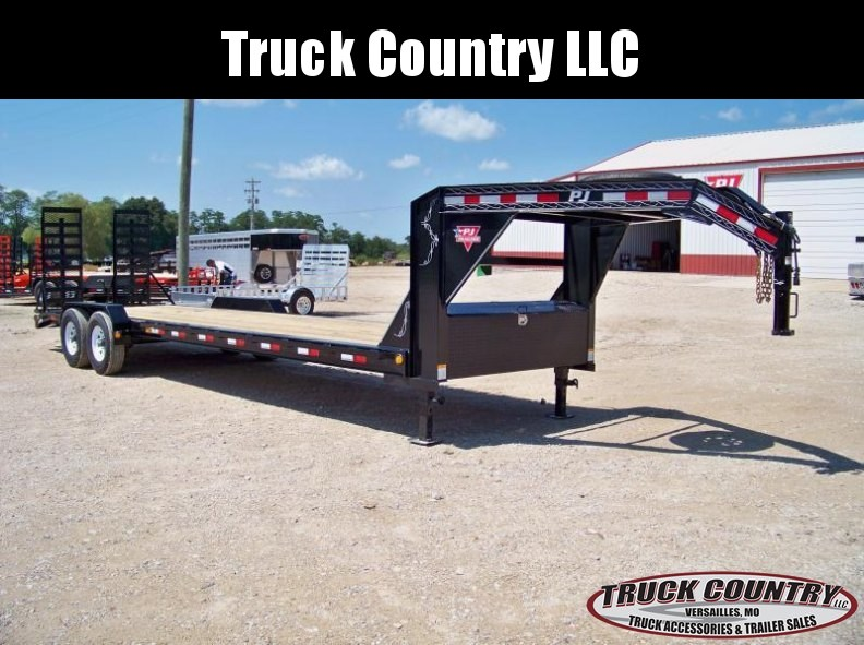 2018 PJ Trailers H4 28' Gooseneck Equipment Trailer