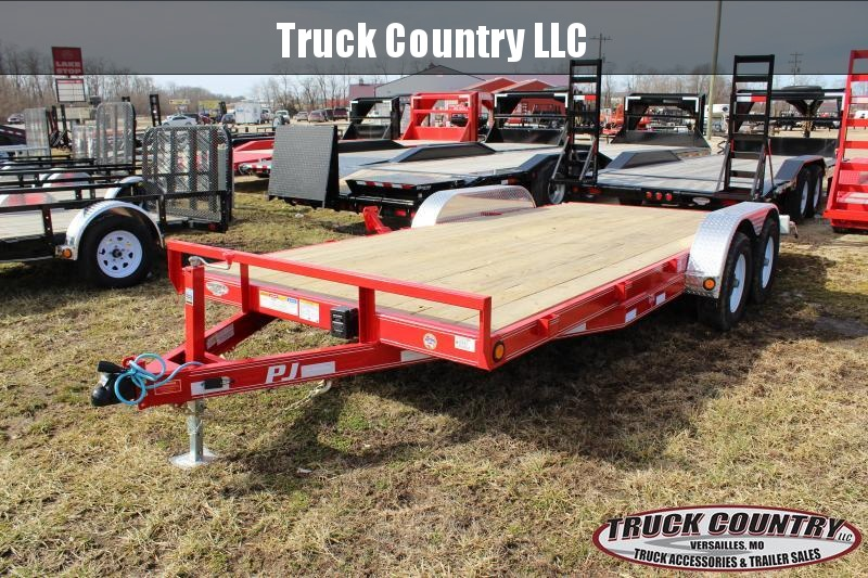 2019 PJ Trailers CE 18' Equipment Trailer
