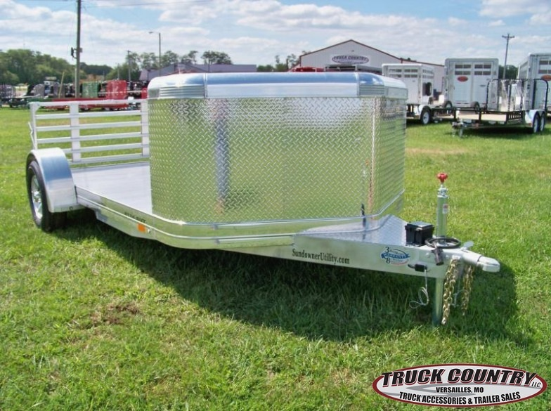 2017 Sundowner Trailers aluminum 6.9