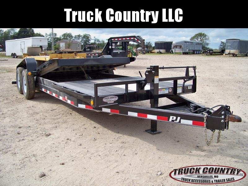 2018 PJ Trailers TJ 22 Tilt Equipment Trailer