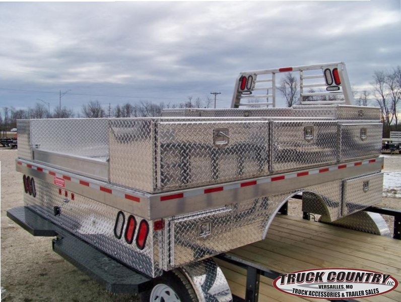 2017 Zimmerman 97x114 aluminum construction Truck Bed
