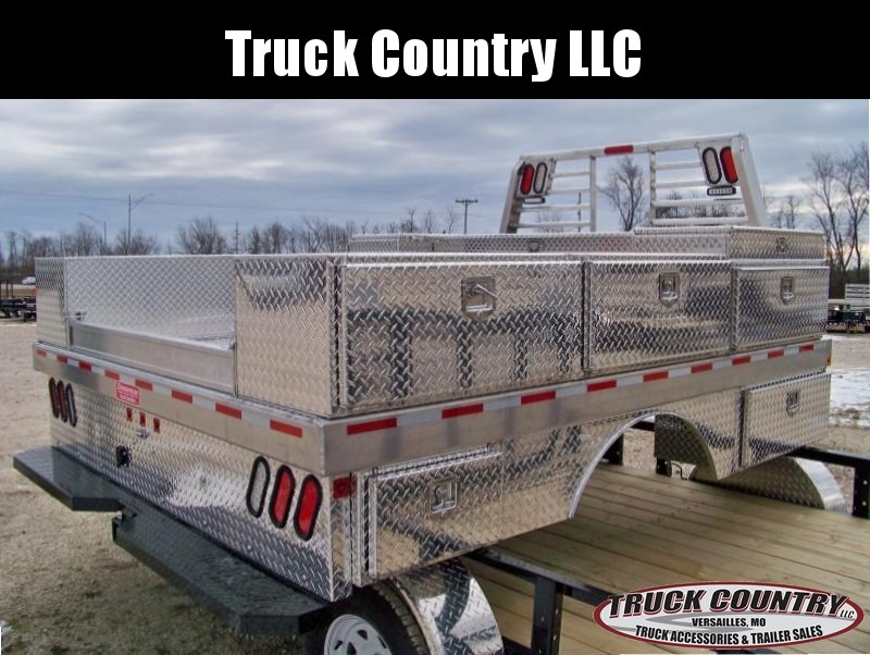 Zimmerman 97x114 aluminum construction Truck Bed