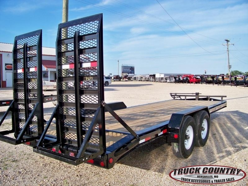2018 PJ Trailers H4 20' 2-8K axles Equipment Trailer