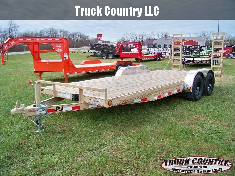 "2018 PJ Trailers CE 83""x20' Equipment / carhauler Trailer"