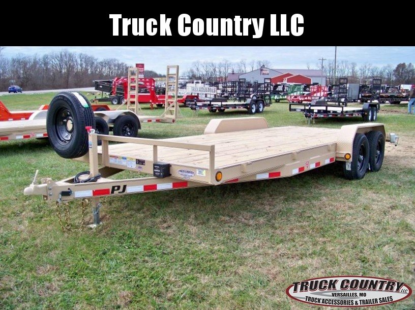 2018 PJ Trailers CE 83x20 Equipment Trailer