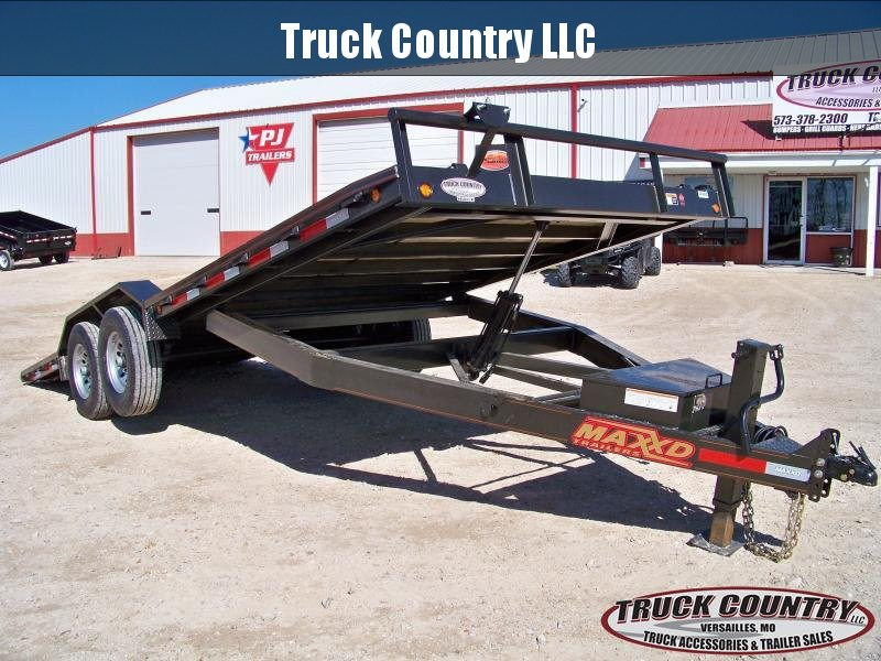 2018 Maxxd Trailers T6X 20' tilt superwide Equipment Trailer