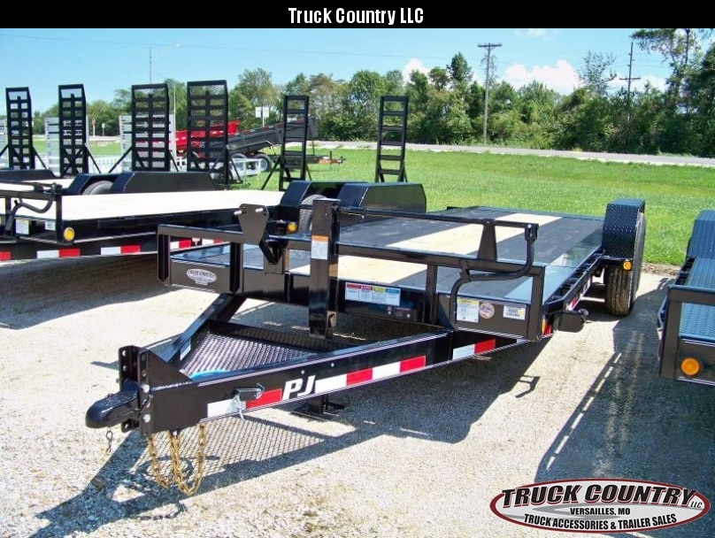 2018 PJ Trailers TJ 20' tilt Equipment Trailer