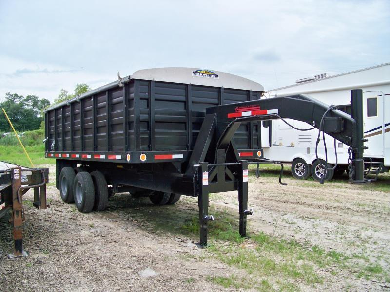 1996 kiefer built 16 gooseneck dump trailer