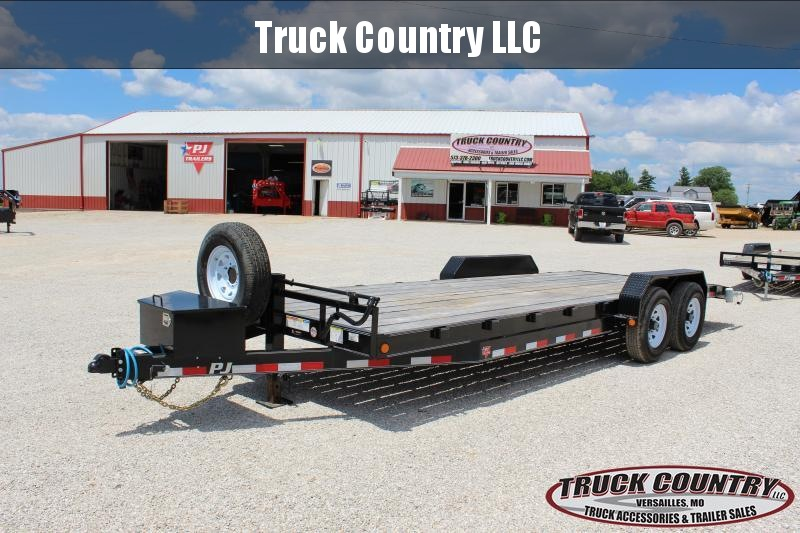 2020 PJ Trailers CC 22' Equipment Trailer