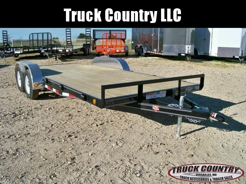 2018 PJ Trailers C4 83x18 Car / Racing Trailer